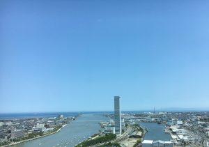 新潟市の風景