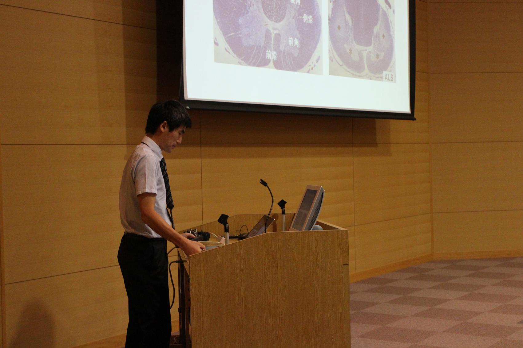 須貝先生の講演