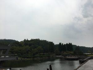 京都国際会館の景色
