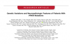 Genetic Variations and Neuropathologic Features of Patients With PRKN Mutations